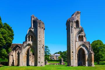 Glastonbury Abbey in Glastonbury, England