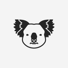 animal koala icon