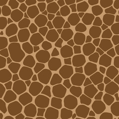 Giraffe fur pattern