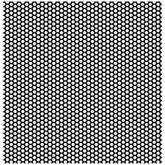 Seamless pattern of the hexagonal black net