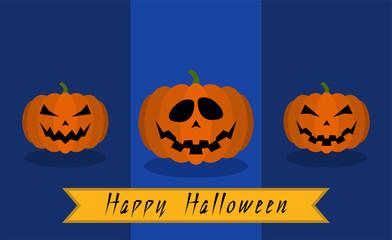 Illustration of halloween icons
