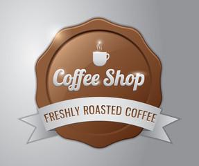 Coffee badge : mocha coffee house