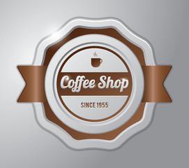 Coffee badge : coffee shop