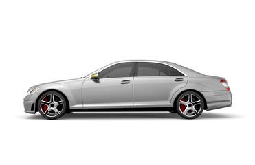 Generic grey car