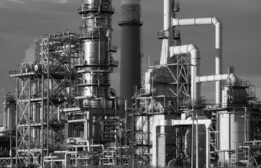 Foto op Canvas Industrial geb. Refining plant
