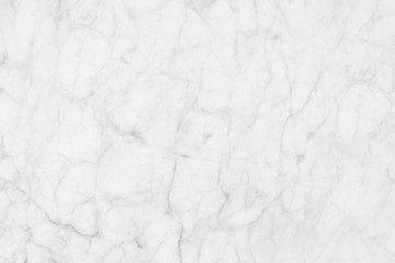 White ( gray) marble texture, detailed structure of marble in natural patterned  for background and design.