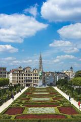 Foto op Canvas Brussel Mount of the Arts in Brussels, Belgium.