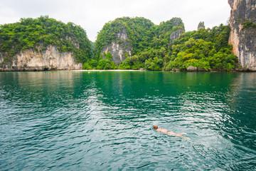 Lagoon Koh Hong, Krabi, Thailand