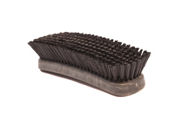 clothes cleaning brush isolated on white background