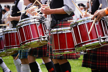 Wall Mural - Scottish band