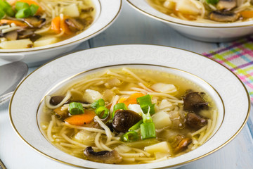 Mashroom soup.