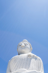 Big Buddha monument on the island of Phuket in Thailand