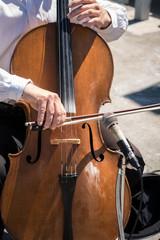 Cello Street musician