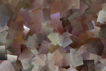 Mosaik in Brauntönen