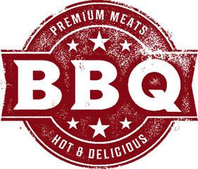 Premium BBQ Barbecue Vintage Sign