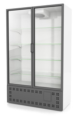 vertical refrigeration showcase
