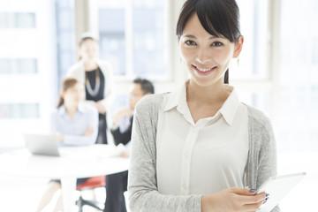 Female office worker portrait