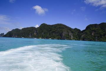 Andaman sea, Phi Phi island