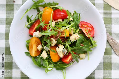 Салаты со свежими помидорами рецепты с фото