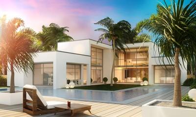 Traumhaus mit pool  Bilder und Videos suchen: traumvilla