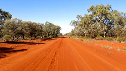 outback road, australia