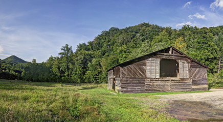 Caldwell Barn, Cataloochee Valley, Great Smoky Mountains National