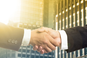 .Businessman shake hands