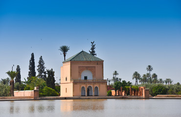 Menara parc in Marrakech-Morocco