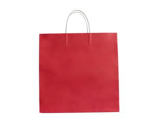 Red shopping bag