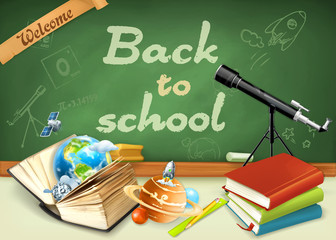 Welcome back to school. Studying and teaching