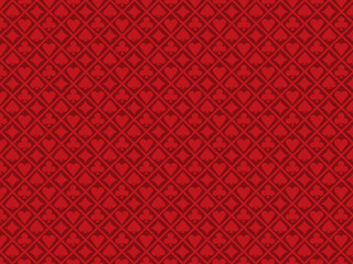 Poker red background