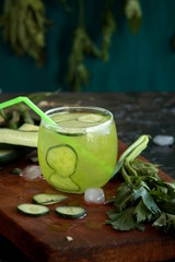 refreshing drink made of vegetable