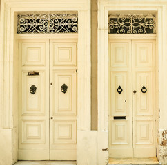Traditional exterior door in Malta