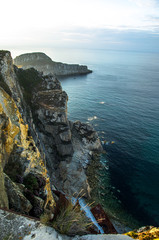 Isla de Deva y minas de la Costa de Asturias