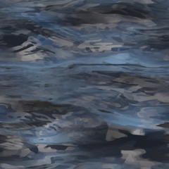 realistic water texture. Seamless pattern