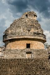 "Observatory temple - ""El Caracol"". Chichen Itza, Yucatan, Mexico"