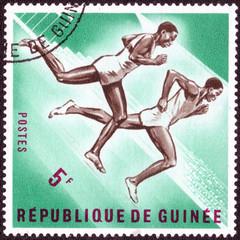 Republic of Guinea - CIRCA 1965: