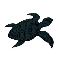 Stylized turtle.