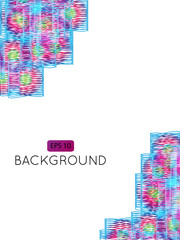 Abstract Background Squares Decor 2