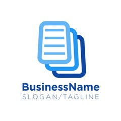 Office Business vector logo icon