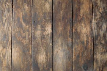 Distressed Vertical Wood Plank Floor Boards Background