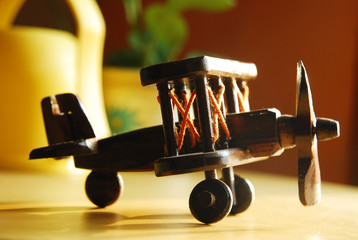 Woody Plane Toys.. Dreaming to be a pilot.. Child's Dream..