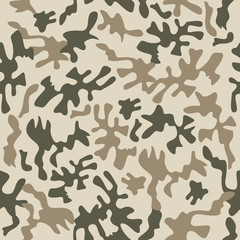 Camouflage fabric pattern