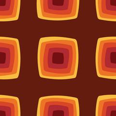 Wall Mural - Seamless geometric vintage wallpaper vector