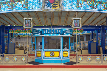Amusement Ticket Window