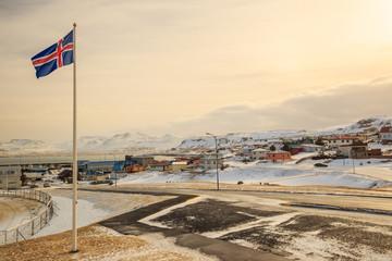 Olafsvik city in Iceland
