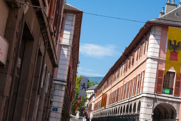 Rue de Boigne à Chambéry