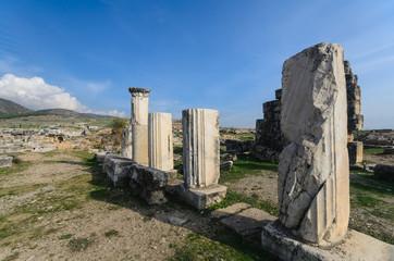 Ancient city of Hierapolis, Pamukkale, Turkey