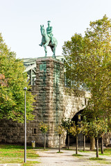 Equestrian Statue of Kaiser Wilhelm II in Cologne, Germany