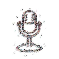 people shape  microphone  cartoon